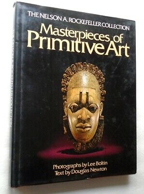 MASTERPIECES OF PRIMITIVE ART Rockefeller Collection Masks Vessels Jewelry HB