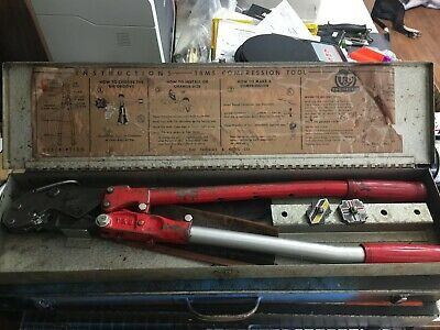 Thomas & Betts TBM5 COMPRESSION TOOL USED