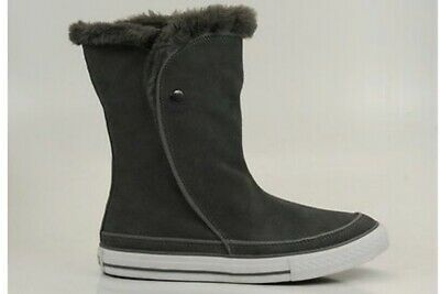 CONVERSE WINTER STIEFEL Beverly Boot Mid 525941C Grau Leder