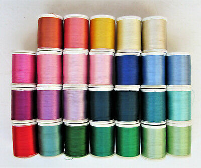 Lot of 26 Premium Sulky Machine Embroidery Thread 40 Wt Rayon 850 yds  NEW