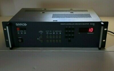 BARCO RCVDS 05 Remote Controlled Video Data Selector