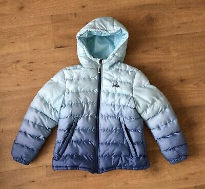Girls Winter Coat Puffer Jacket Size 13 Years fits Age 11-12 Lee Cooper
