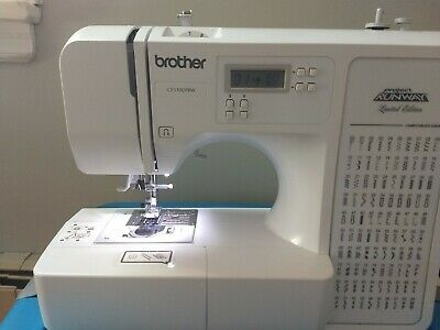 Brother Computerized Sewing Machine Xr9550prw Project Runway