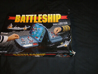 Vintage Battleship Board Game The Classic Naval Combat Game 4730  Complete