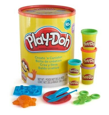 NEW Play-Doh Create N Canister from Fairdinks