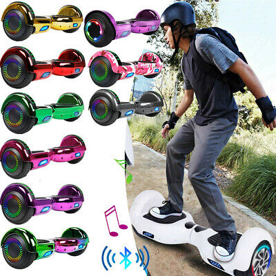 """6.5"""" Hoverboard Bluetooth 2Wheel Electric Self Balance Scooter with Bag Side LED"""