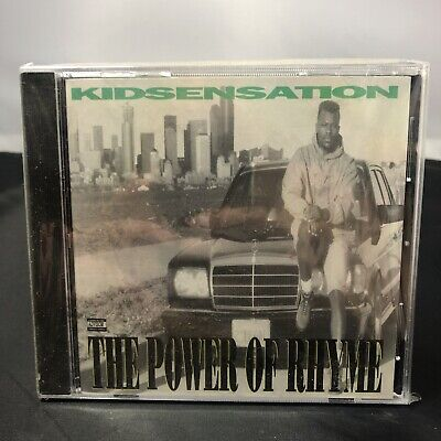 Kid Sensation The Power of Rhyme CD RARE OOP Old School Seattle Hip Hop Rap NEW