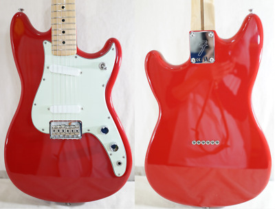 Fender Duo Sonic Made in Mexico Serial No. MX16748814 2016 Red Electric Guitar