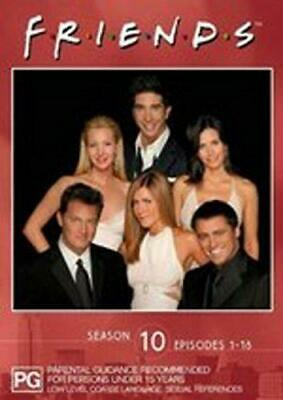 Friends Complete Series 10 Ep 1-18 - Jennifer Aniston, Matthew Perry, Courtney C