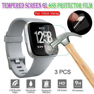 Guard Cover Screen Protectors Protective Film Tempered Glass For Fitbit Versa