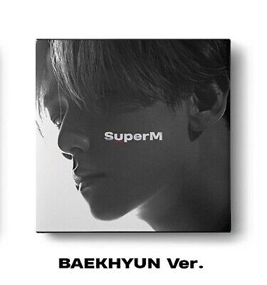 SuperM 1st Mini Album - [SuperM] BAEKHYUN Ver. CD+Booklet+Mini Booklet+Photocard