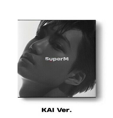 SuperM 1st Mini Album - [SuperM] KAI Ver. CD+72p Booklet+Mini Booklet+Photocard