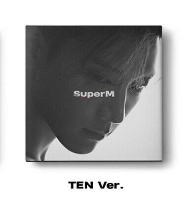 SuperM 1st Mini Album - [SuperM] TEN Ver. CD+72p Booklet+Mini Booklet+Photocard