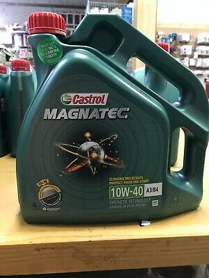 4 Litres 4L Castrol Magnatec 10W40 Part Synthetic Car Engine Oil Diesel Petrol