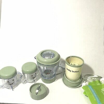 Magic Baby Bullet Complete Food Blender Processor System - Green