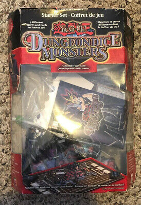 Yu-Gi-Oh Dungeon Dice Monsters Starter Set 1996 Complete Except for Game Board