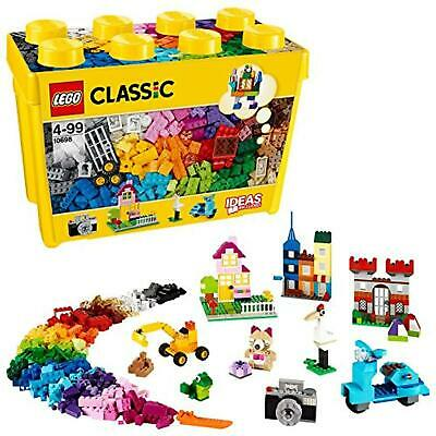 LEGO 10698 Classic Large Creative Brick Box Construction Set, Toy Storage