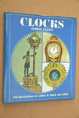 Book. Clocks by Simon Fleet. 1972.