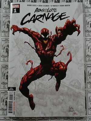 Absolute Carnage (2019) Marvel - #1, 5th Print Variant, Cates/Stegman, NM