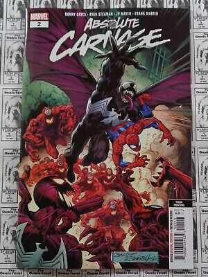 Absolute Carnage (2019) Marvel - #2, 3rd Print Variant, Cates/Stegman, NM