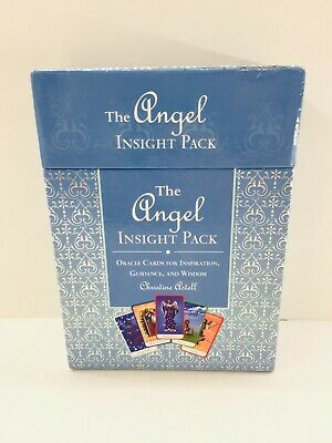 The Angel Insight Pack 52 Oracle Cards w/Guide to Discovering Angel Energy