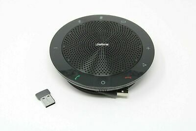Jabra Speak 510+ Portable Speaker for Music and Calls Black