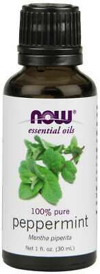 Essential Oil Peppermint 100% Pure & Natural - 1 oz /30ml - Now Foods