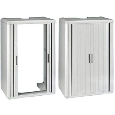Cabin Copricaldaia in Resin Opening a Shutter White 416105