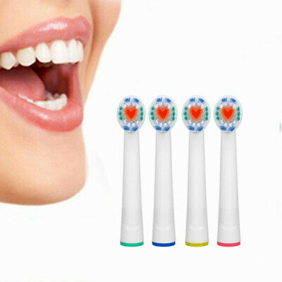 4Pcs Clean Electric Toothbrush Replacement Brush Heads Compatible With Oral B