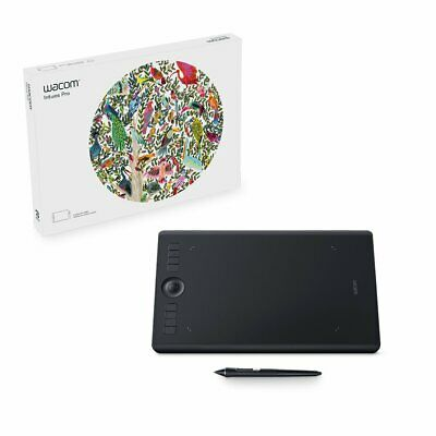 Wacom Intuos Pro Digital Graphic Drawing Tablet for Mac or PC, Medium, (PTH66...