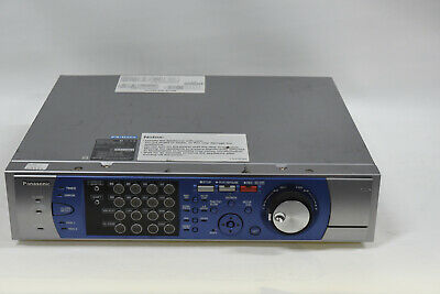 Panasonic WJ-HD316 A/G 16-Channel Digital Disk Recorder - Selling AS IS (B)