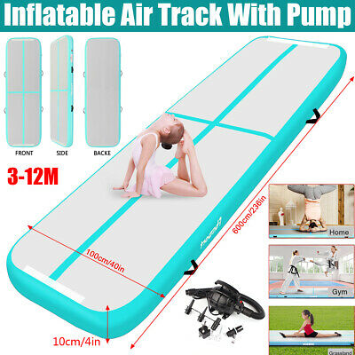 20ft 16ft Air track Inflatable Gymnastics Mat Airtrack Home Floor Tumbling Mat