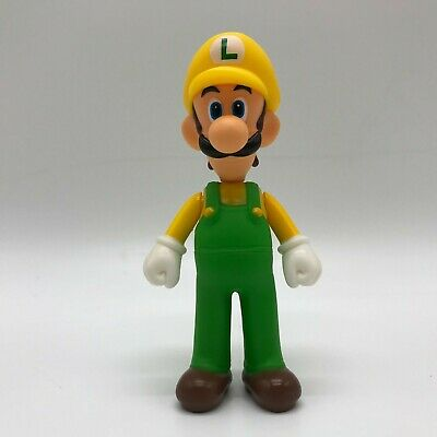 Super Mario Odyssey Luigi Action Figure in Wario Costume Toy Vinyl Doll 5.5""