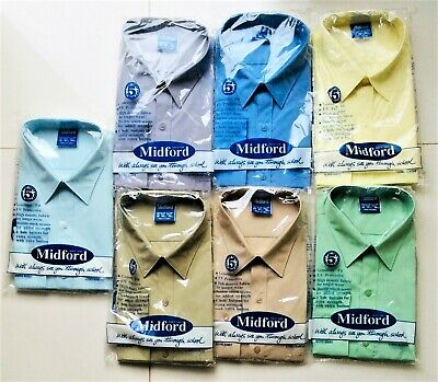 Midford Boys Long Sleeve Classic Shirt - Brand New with Tag