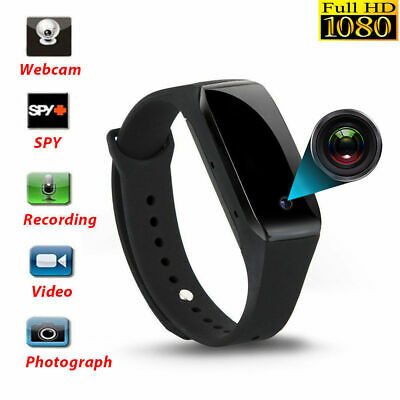 Mini camara Espia de movimiento Pulsera HD 1080P DVR Reloj Grabadora de Video