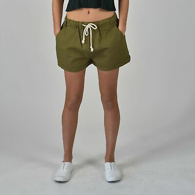NEW Relaxed Short in Khaki Women's by Carousel