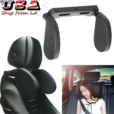Seat Neck Support Pillow Travel Sleep Side Cushion For Car Adjustable Headrest