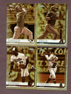 2019 Topps Chrome Sepia Refractors  YOU PICK   Complete Your Set