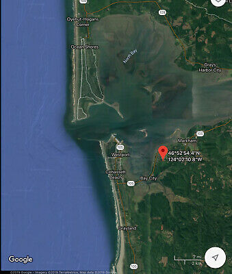 2 Vacant Land Lots for Sale Gray's Harbor WA-Tiny House/RV/Camping OWC