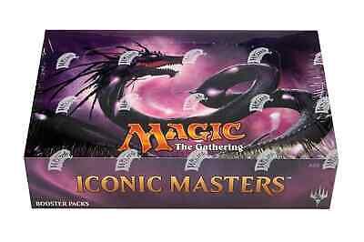 Magic The Gathering Mtg Iconic Masters Booster Box New Sealed