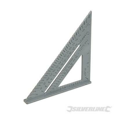 Rafter Roofing Square, Strong lightweight plastic construction. 7 Inch. - 465021