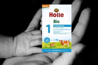 54 x Holle Organic Infant Cow Formula 1, 400g - free shipping