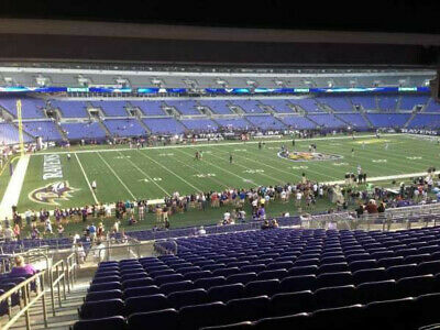 4 tickets Ravens vs Steelers 12/29/19 Sect 105 Row 32 under overhang