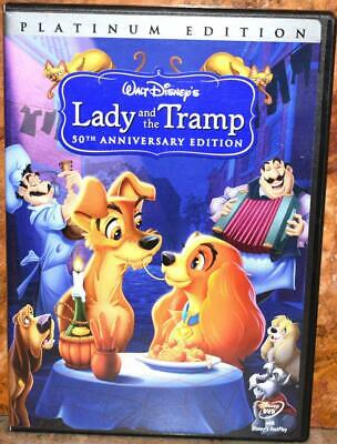 Lady and the Tramp (DVD, 2006, 2-Disc Set, Special Edition) ~101A