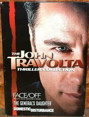 The John Travolta Thriller Collection (DVD, 2007, Multi-Disc Set) ~101A