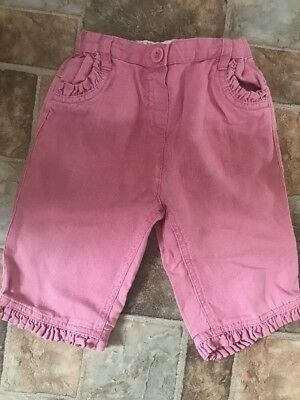 Girls Monsoon Trousers Size 2-3 Years