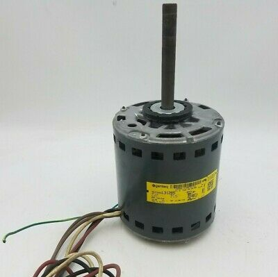 Genteq 5KCP39SG 1/2 HP Electric Motor 277V 750/630RPM 4.57A 60Hz 1 Phase Used