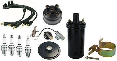 6V Coil & Ignition Tune Up Kit IH Farmall 100 Tractor with IH Distributor