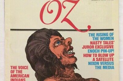"OZ Magazine (ISSUE #47) ""Final Issue"" - great condition, part of a collection"