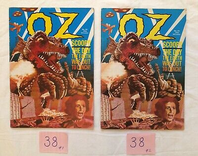 OZ Magazine (ISSUE #38) - I have 2 copies (sold separately) part of a collection